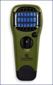 Thermacell Mosquito Repellent Outdoor and Camping Repeller Device in one out of many colors.