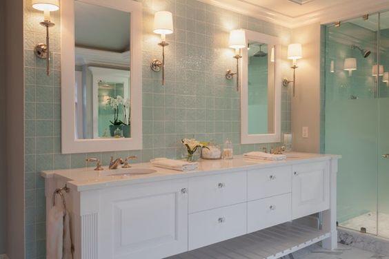 House of turquoise plum interiors bathrooms pinterest for Plum bathroom ideas