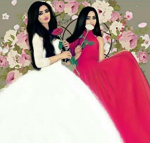 Pin By نازیہ صدیقی On Pretty Girls Fashion Sketches Dresses Cute Girl Drawing Cute Couple Art