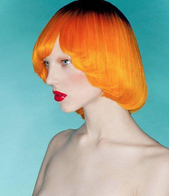 15 Citrus-Hued Hairstyles For Girls Daring To Go Orange