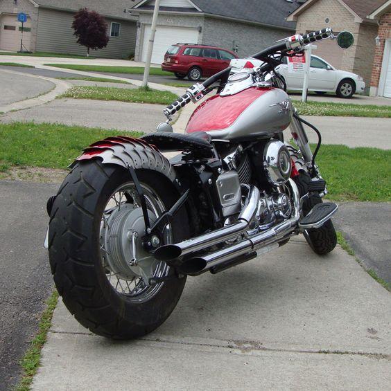 Yamaha v star 650 bobber yamaha v star 650 bobber for Yamaha v star 650 custom bobber kit