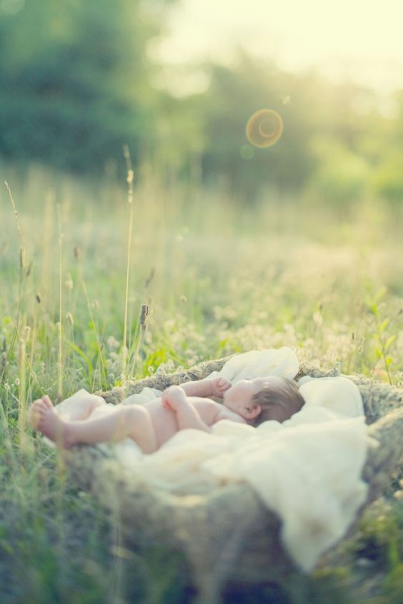 So nice if you get a chance to take baby pics outside!