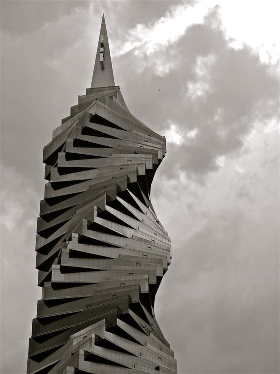 """You Say You Want a Revolution "" by Kevin Haggith, The REvolution Tower in Panama City's Banking and Business District"