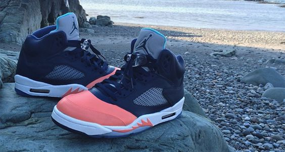"4730c6eeee0 5 Air Jordan 4 Custom Nike SB Dunk ""Palmers"" Customs by ..."