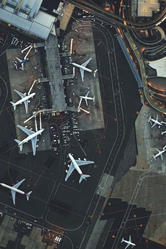 Airport from above
