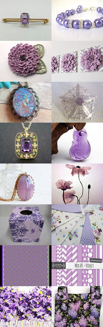 Lilac & Amethyst LUV by Hookin' to the Beat on Etsy