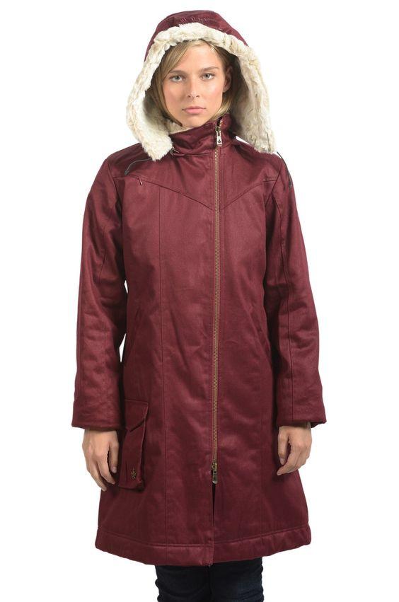 Winter Coat! Ladies&39 Long HoodLamb Coat | Styling | Pinterest
