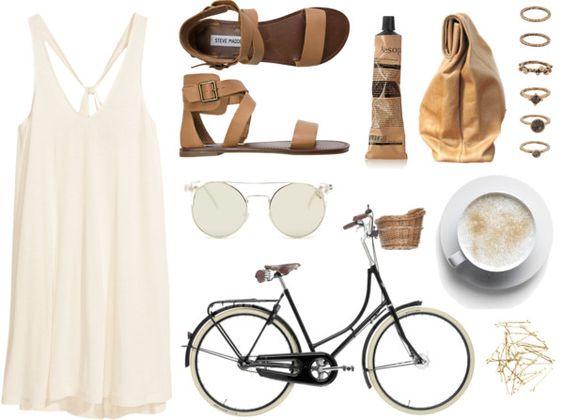Bike ride par baludna utilisant chaussures à plate-forme
