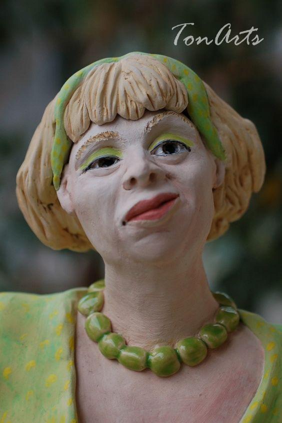 Bäuerin sucht Mann - AprilWiese - Skulptur