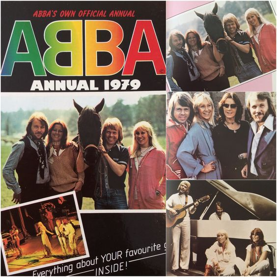 Visit my blog for info on the 1979 Abba Annual #Abba #Agnetha #Frida http://abbafansblog.blogspot.co.uk/2015/02/1979-abba-annual.html