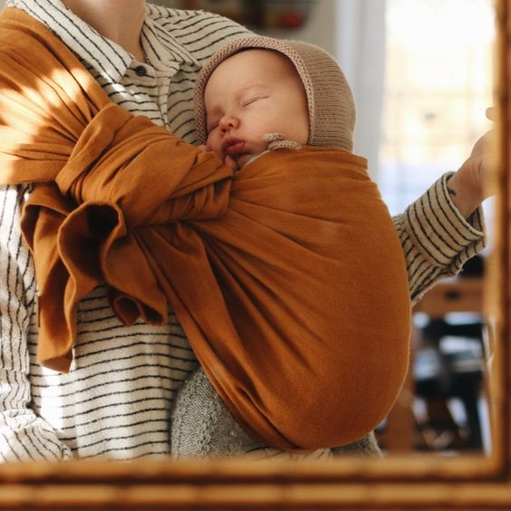 Baby ring sling   baby wearing   attachment parenting   fourth trimester