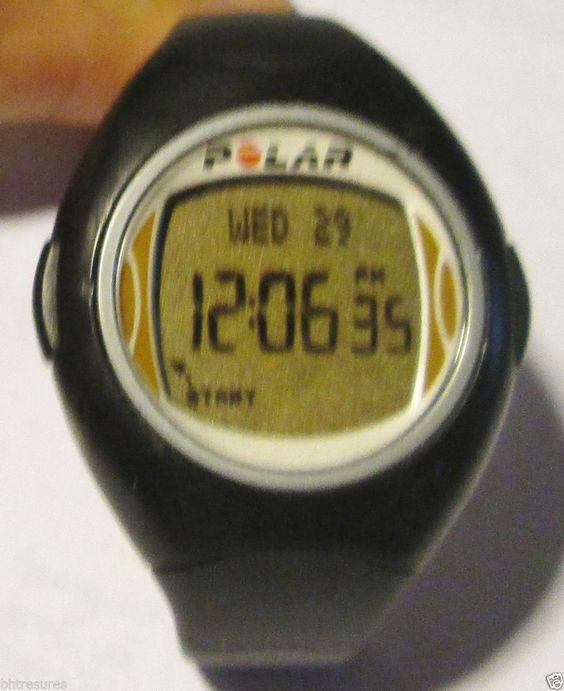 Polar Heart Rate Monitor Battery : Polar electro ce heart rate monitor watch with fresh
