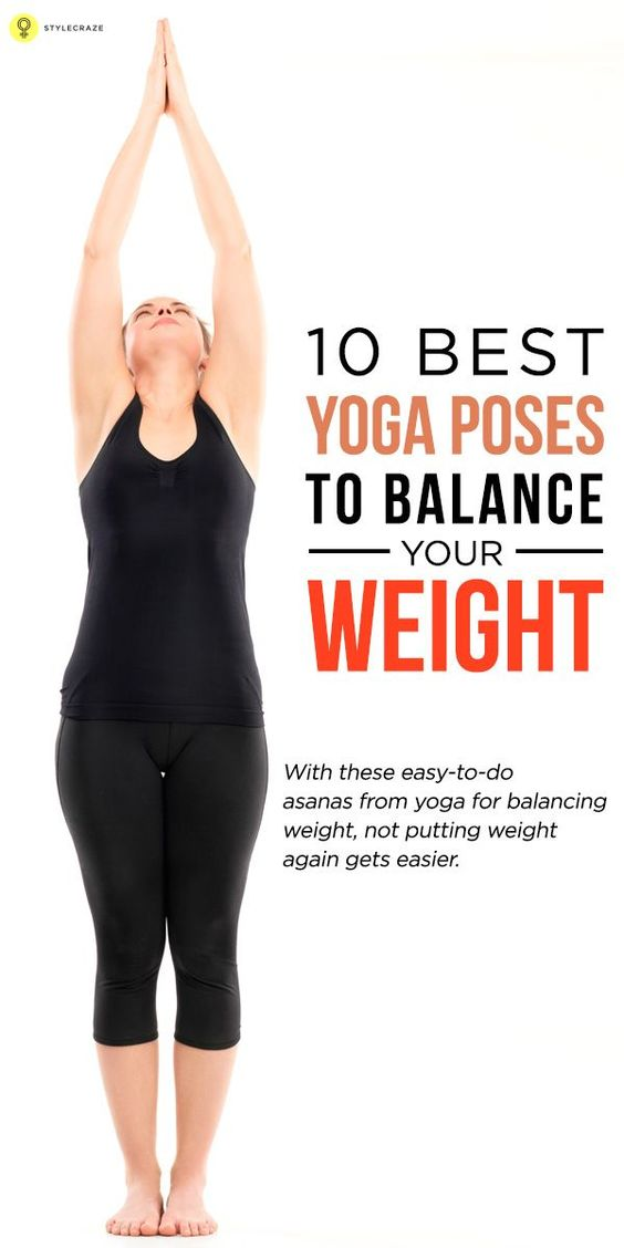 You have lost your weight through regular and dedicated practice of yoga. The next level is to balance your weight, and as with your weight ...
