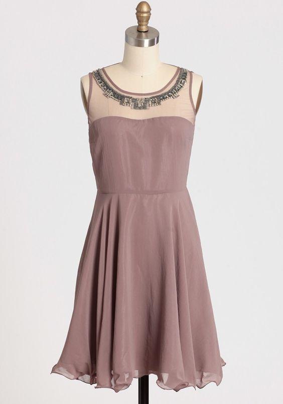 Enchanting Sparkle Beaded Dress