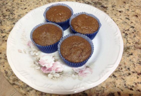 Muffin de chocolate da Juli