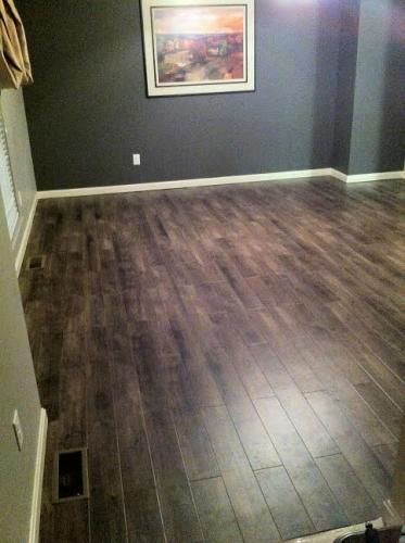 TrafficMASTER Allure Plus 5 in  x 36 in  Grey Maple Luxury Vinyl Plank  Flooring  22 5 sq  ft    Case. Home depot TrafficMaster Allure Sawcut Dakota Vinyl Planks   DIY