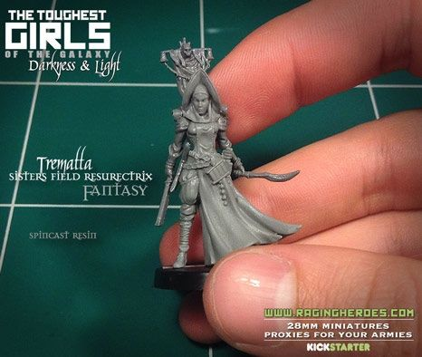 TGG2 UPDATE #32 – 3D Prints + First Sub-Masters and Casts + Holiday De | Raging Heroes