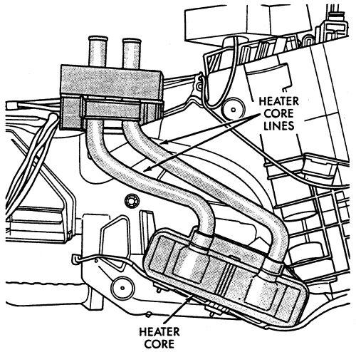 Dodge Heater Diagram