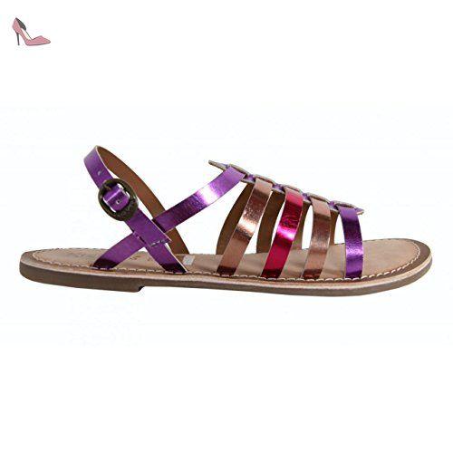 Sandales pour Fille KICKERS 472310 30 DIXMILLION FUCHSIA