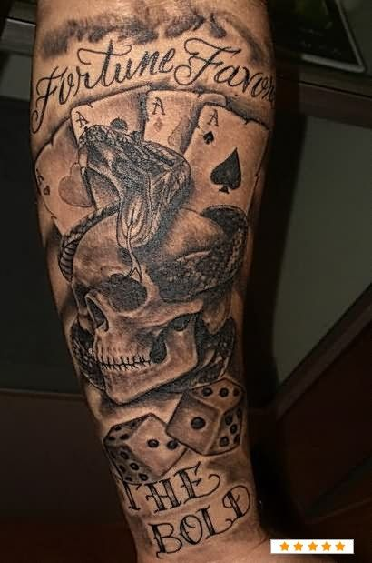 Skull Gambling Tattoo Gentoo Gcc Slots
