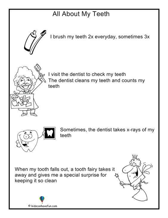 Number Names Worksheets dental health worksheets : Number Names Worksheets : dental health worksheets for kids ~ Free ...