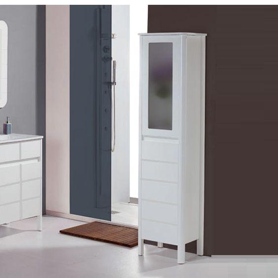 COLUMNA DE PIE LEVANTE Mueble auxiliar de cuarto de baño  Muebles
