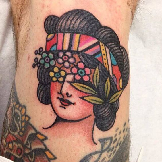 Great Tattoo by Cecile Pages.  See More :: https://www.swallowsndaggers.com/awesome-tattoos-314/?utm_content=buffer86262&utm_medium=social&utm_source=pinterest.com&utm_campaign=buffer  #tattoo #tattoos