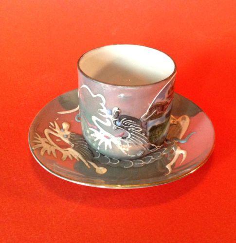 Dragon-Ware-Demitasse-Tea-Cup-And-Saucer-Washington-DC-Souvenir-Capsco-Japan
