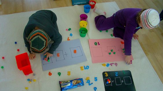 simple idea for teaching my littlest guy his addition and subtraction.......   LOVE THIS!!!!!!!   DSC04240 by keepcalmteachon, via Flickr
