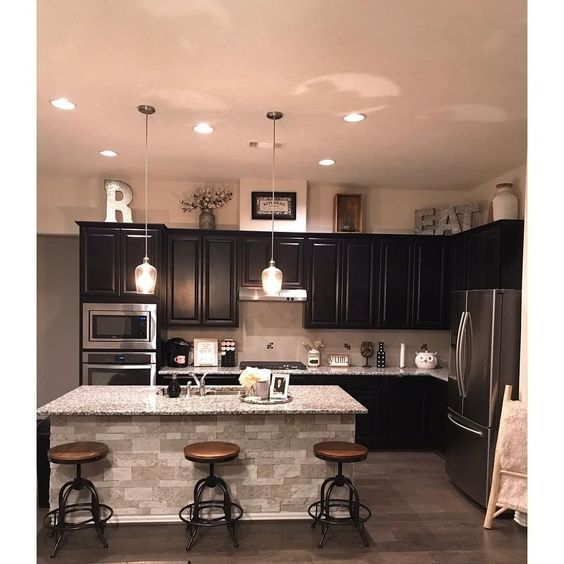 5 Kitchen Ideas On A Budget Dark Fancy Kitchens Home Decor