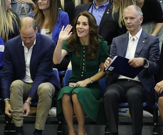Prince William, Duke of Cambridge and Catherine, Duchess of Cambridge visit Kelowna University
