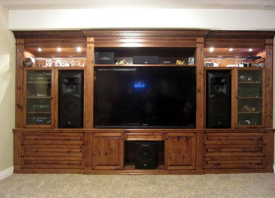 Tv entertainment wall Wall entertainment center and