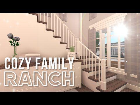 Bloxburg Cozy Family Ranch Youtube In 2020 Ranch Cozy My Roblox