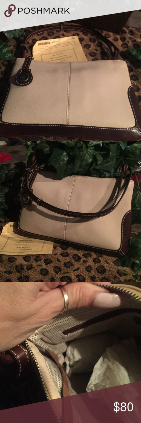 Dooney &Bourke purse size 7by 11 new New never used used 7by 11 tan and brown Dooney & Bourke Bags Mini Bags
