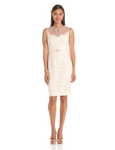 Maggy London Women's Daisy Organza Sheath With Belt Price:$158.00 & FREE Shipping.