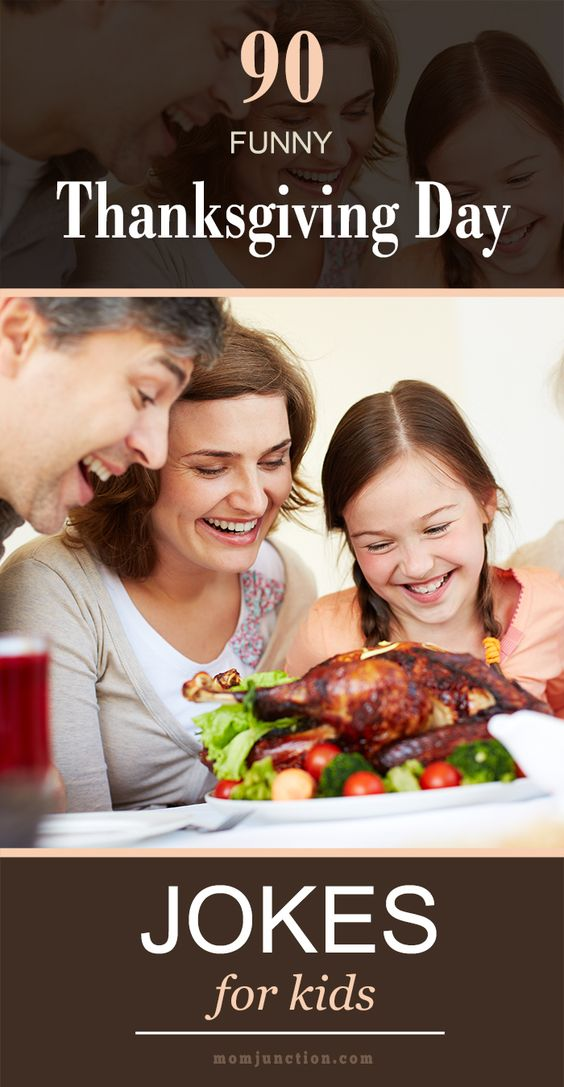 Funny, Thanksgiving jokes and Kid on Pinterest