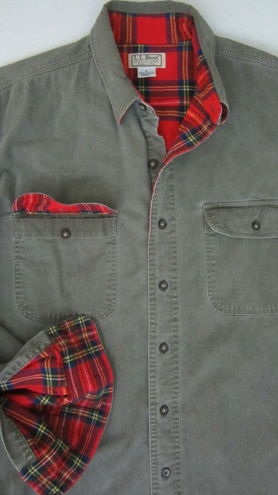 Lined Flannel Shirt Jacket | Outdoor Jacket