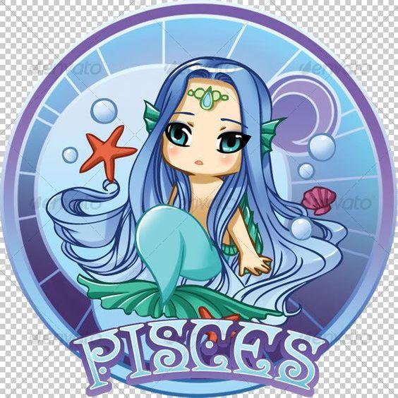 Animated chibi zodiac - Pisces