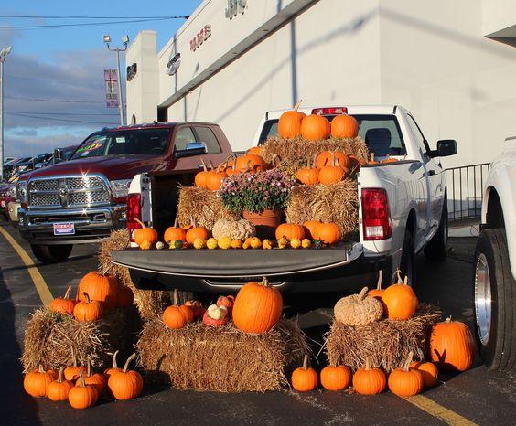 dodge ram loaded for halloween by Bob  Via Flickr:  Jarrettsville Maryland