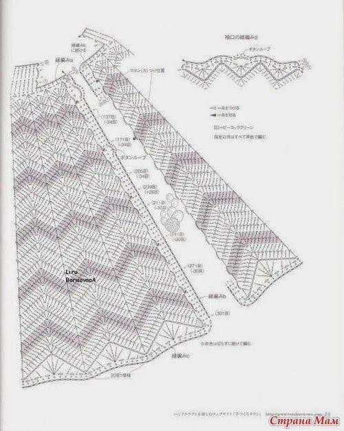 Maravilhas do Crochê: Pontos e Roupas com ponto Zig Zag