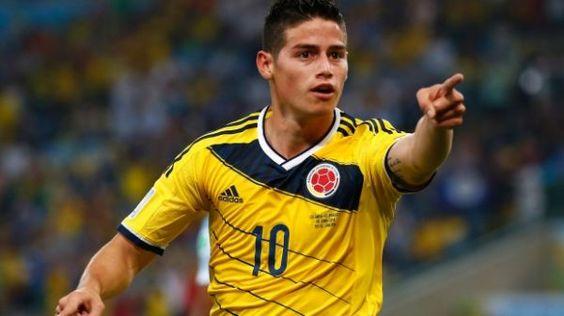 James Rodíguez (Colombia): US$ 66 millones