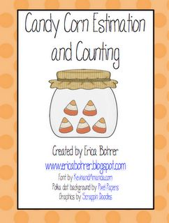 Free Candy Corn Estimation and Counting Math Centers