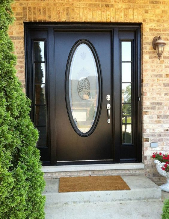 Pinterest the world s catalog of ideas for Exterior door with round window