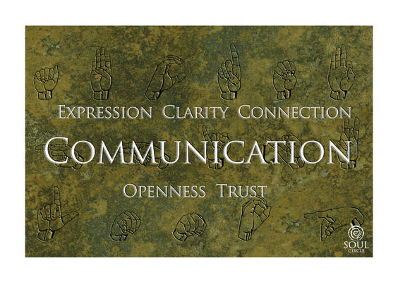 How do you communicate with yourself?