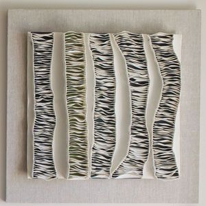 Fenella Elms - Ceramics Artist - ceramic edges on porcelain undersheet