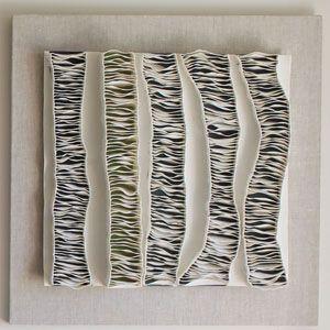 Fenella Elms - Ceramics Artist - ceramic edges on porcelain undersheet