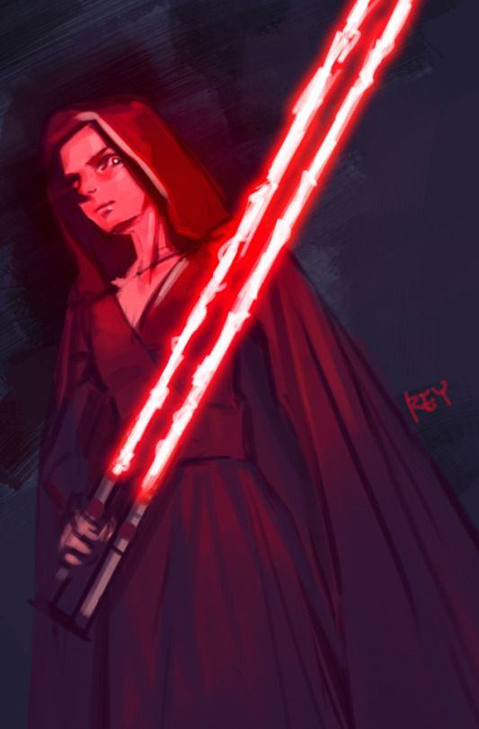 Dark Rey From The Rise Of Skywalker Rey Star Wars Star Wars Fandom Star Wars Sith