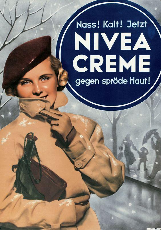 NIVEA Retroanzeige - 1938. #nivea #retro