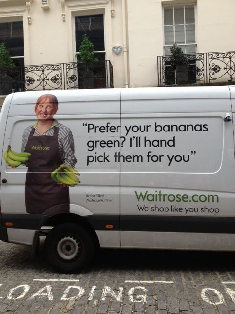 Waitrose- Delivery vans. Hand picked.