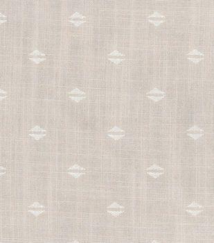 Nate Berkus Home Decor Print Fabric- Witte Pearl Gray